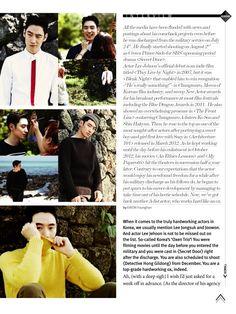Lee Je Hoon for High Cut Magazine Lee Je Hoon, High Cut, Drama, Korean, Magazine, Actors, Film, Movie, Korean Language