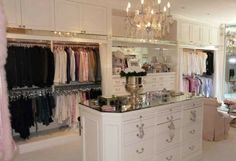 The best of luxury closet design in a selection curated by Boca do Lobo to inspire interior designers looking to finish their projects. Discover unique walk-in closet setups by the best furniture makers out there Le Closet, Closet Vanity, Master Closet, Closet Bedroom, Closet Space, White Closet, Attic Closet, Pink Closet, Master Suite