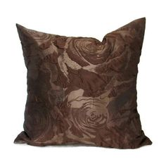 Brown Pillow, Brown Pillows, Brown Bed Pillow, Brown Pillow Cover,... (50 BAM) ❤ liked on Polyvore featuring home, home decor, throw pillows, brown pillow, brown toss pillows, brown accent pillows, brown throw pillows and brown home decor