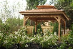 From stylish backyard sheds to cedar gazebos, and from garage solutions to pool houses, you'll find it with Summerwood! Backyard Gazebo, Garden Gazebo, Backyard Sheds, Garden Beds, 12x8 Shed, Wood Spa, Wood Privacy Fence, Building A Storage Shed, Shed Construction