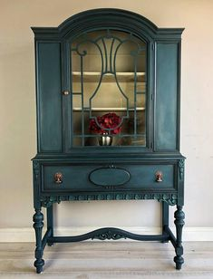 Before Amp After My China Cabinet Makeover Using Beyond