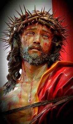 Jesus Our Savior, Heart Of Jesus, God Jesus, Pictures Of Jesus Christ, Religious Pictures, Catholic Art, Religious Art, Pontius Pilatus, Sainte Therese
