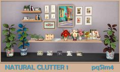 Sims 4 CC's - The Best: Natural Clutter 1 by pqSim4