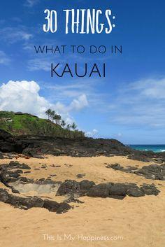 30 Things to Do on the Island of Kauai