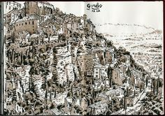 Simon Gane: France Sketches