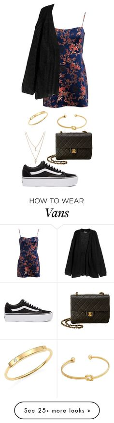"""Untitled #908"" by ayalikeschicken on Polyvore featuring H&M, Vans, Chanel, LOFT and Zoë Chicco"