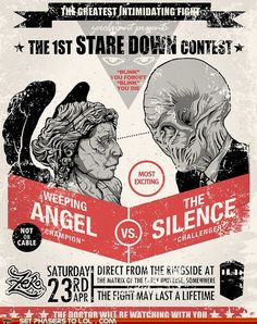 weeping angles vs. the silence