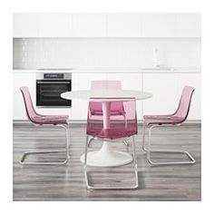 IKEA - DOCKSTA / TOBIAS, Mesa con 4 sillas