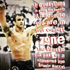 Romulo Barral quote #quote #jiujitsu #mma #ufc #inspiration #motivation #life #bjj #judo #wrestling
