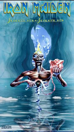 Seventh Son of a Seventh Son (Iron Maiden) Heavy Metal Art, Heavy Metal Bands, Rock Posters, Concert Posters, Hard Rock, Iron Maiden Seventh Son, Iron Maiden Cover, Iron Maiden Mascot, Vic Rattlehead