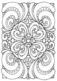 mandala coloring pages | Coloring page mandala - img 21804.