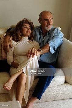 Image result for sean connery and wife