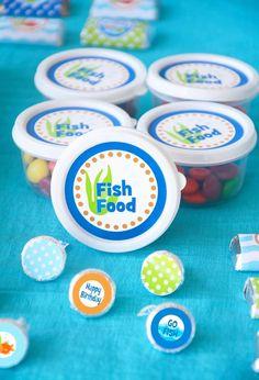 Rainbow Fish Party   CatchMyParty.com
