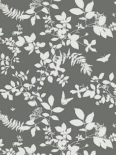 Cool wallpaper - schumacher shadow vine - charcoal