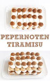 Pepernoten tiramisu I Love Food, Good Food, Yummy Food, Baking Recipes, Dessert Recipes, Food Inspiration, Sweet Recipes, Food And Drink, Favorite Recipes