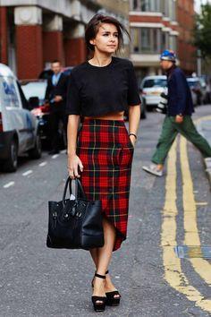 Street Style - London Week SS14