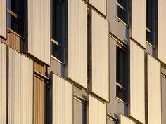 Facade detail - Flint Architectes