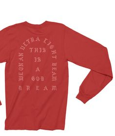 I Feel Like Pablo Shirt - Pablo Shirt – Tee - Kanye West Long Sleeve Shirt Ultralight Beam Yeezy Season MSG T-Shirt