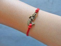 Hemp ropes bracelet women bracelet girls by braceletbanglecase, $2.95