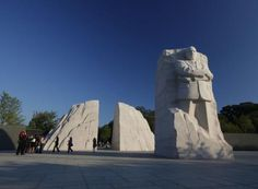 """The Martin Luther King, Jr. Memorial in Washington, DC. is an AWESOME experience and a """"Must See"""" if you're ever in our Nation's capital. Dedicated on October 16, 2011 (the 16th anniversary of the 1995 Million Man March on the National Mall), it is the first of its kind in that it is not dedicated to a war or a President. ~~ Learn more: http://en.wikipedia.org/wiki/Martin_Luther_King,_Jr._Memorial. Click on the pic to """"Friend"""" me on Facebook and to find more photos in my Facebook Photo…"""