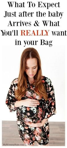 All of those little things you want to know about after the baby comes and what to pack in your hospital bag! This list is a life saver for pregnant moms!
