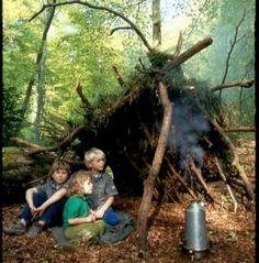 Tips for constructing a den outdoors (via going wild)