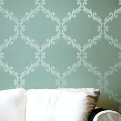 - r3088l - lots of wall stencils. Find one for bedroom ceiling, pantry and powder room