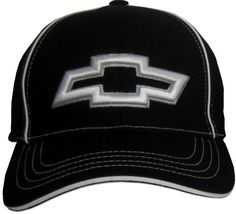 Chevy BOWTIE 3D Fitted Flexfit Fine Embroidered Hat Cap b405d0edb877