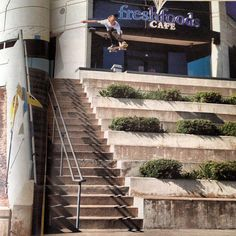"""Aaron """"Jaws"""" Homoki · Skate · Dekline · Footwear · Spot · Gap · Stairs · Big · Grip · Decks"""