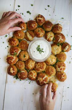 Homemade pretzel bits (click through for recipe)