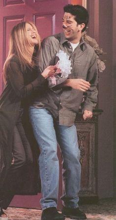 Ross and Rachel.