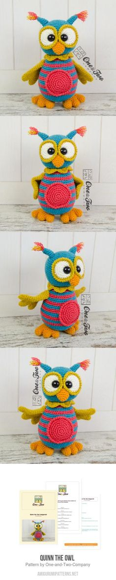 Quinn the Owl amigurumi pattern