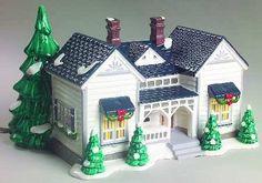 "Amazon.com: Department 56 The Original Snow Village ""Grandma's Cottage"": Home & Kitchen"