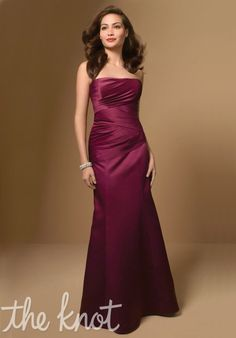 Alfred Angelo Bridesmaids Bridesmaid Dress. Black. I hope it looks as good on. I just want a swoop to match my dress.