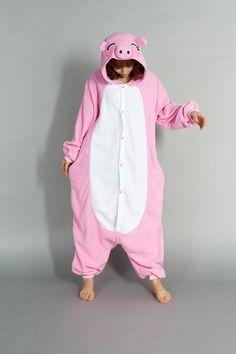 Pink Piggy Kigurumi