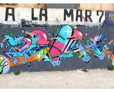 Deih in Valencia, Spain, 2020 Valencia Spain, Graffiti, Street Art, Graffiti Artwork, Street Art Graffiti