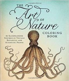 8 Of A Kind: Adult Coloring Books- The Art of Nature