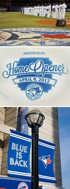 Home Opener-Toronto Blue Jays 2012 Sports Graphics, Toronto Blue Jays, Raptors, My Boys, Baseball, Summer, Baseball Promposals, My Children, Summer Time
