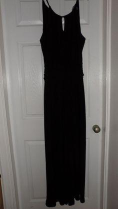5e957e8ea921 Fab Ladies Wallis Black Sleeveless Strappy Jumpsuit UK Size 12  fashion   clothing  shoes