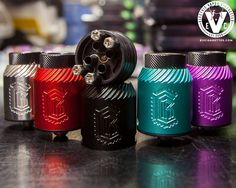 The wait is over! The new squonk-ready Reload BF RDA by Reload Vapor USA is now available at EVCigarettes in 5 color options! It also features a wide bore 810 drip tip with engravings that resembles that of the top cap. The Reload BF's build deck is also cerakoted to give it that extra badass look when showing off your coils.