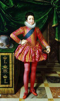 Frans Pourbus - Louis XIII