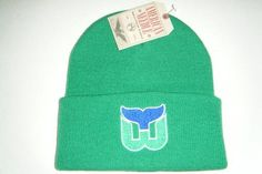 Hartford Whalers Authentic Beanie Toque Knit Hat American Needle by American Needle. $14.08. 100% Acrylic. NEW with tags. one size fits all. Solid Color. Made by American Needle