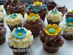 Fotorecept: Čokoládový cupcakes - cupcakes milujú nielen deti ale aj dospelí...