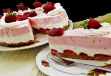 Jahodový cheesecake s nejrychlejší přípravou a dokonalou chutí!