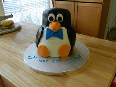 - Penguin cake!!!