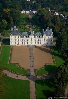 ✈️ Photo aérienne de Cheverny - Loir-et-Cher (41)