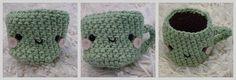 Crochet Coffee Cup Pattern