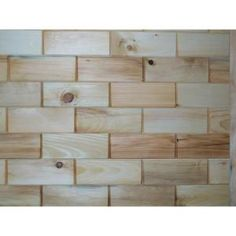 3 in. x 8 in. Northeastern White Pine Wooden Wall Tile-#CKP-31621 at The Home Depot  TONGUE AND GROOVED TILE FOR YOUR WALLS--awesome!!!
