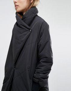 Image 3 ofReligion Padded Maxi Trench Coat