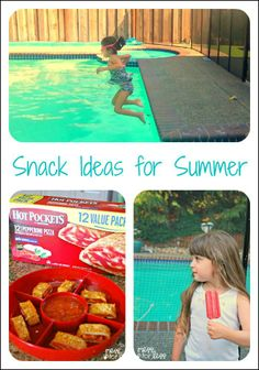 Snack Ideas for Summer - Does being outside make your kids work up an appetite? Some snack ideas to help. #shop #SummerGoodies #cbias
